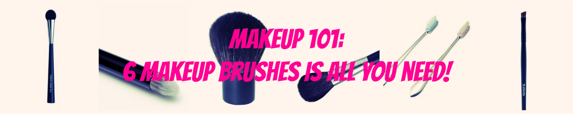 6 Makeup Brushes